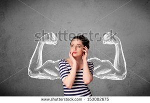 stock-photo-pretty-young-woman-with-sketched-strong-and-muscled-arms-153002675