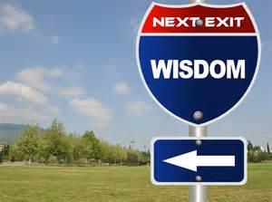 wisdom sign