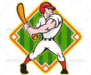 Baseball-Player-Batting-Diamond