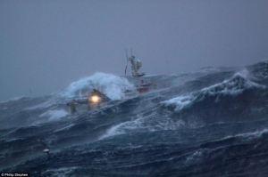 storny seas